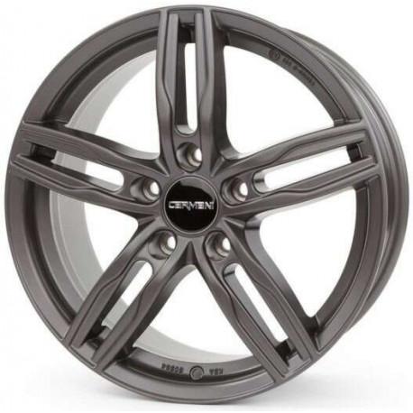 Carmani 7jx16 5x114,3 ET38 st 72,6 Black polish