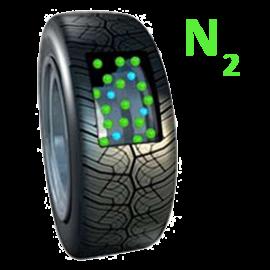 Hustenie pneumatík dusíkom